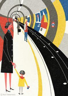 http://www.creativebloq.com/illustration/brighten-your-commute-these-retro-illustrations-5132558
