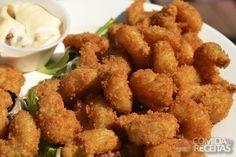 Receita de Isca de frango empanada na cerveja - Comida e Receitas