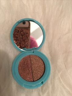This is my personal one I took photos to show off how beautiful it is and it comes with a mirror! I have an extra one that's brand new up for swap/sell!