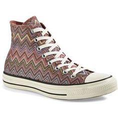 Converse x Missoni Chuck Taylor® All Star® High Top Sneaker (Women) | Nordstrom