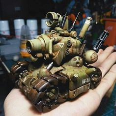 """The vehicle from a classic video game """"Metal Slug"""". Game Bit, I Am Game, Heavy Machine Gun, Funny Tanks, Classic Video Games, Metal Gear Solid, Art Model, Character Drawing, Dieselpunk"""