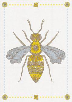 Mr Bee by Joanne Hawker