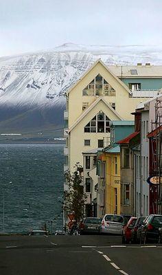 Reykjavík, Iceland - krásné město, domov královny krimi YRSY SIGURDARDÓTTIR a její hrdinky Tóry