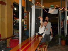 Bachelor Boy, Pat tackling his Beer Pong Challenge!!