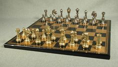 We are experts for manufacturing and exporting brass chess pieces #brasschesspieces #magneticchesssets #WoodenChessPieces