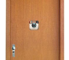 Confira aqui - Placa olho mágico - Instagram - Ultra Decora