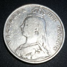 Rare Silver Coin 1887 Great Britain 1/2 Crown, Excellent Condition, Very Fine Details Visible  http://www.amazon.com/gp/product/B00JVEQLCW/?tag=p1nt-20