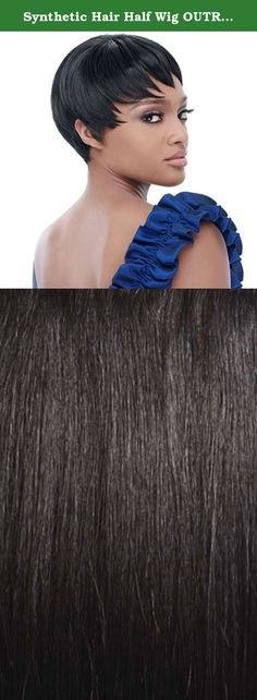 Synthetic Hair Half Wig OUTRE Quick Weave Cap Diaz Color 1B. Self Styled In 60 SecondsChoose from the selections of beautiful, trendy and popular styles. Close to 100 styles available and more to come ...-Blends with your own hair for fullness without bulk. Change styles as often as you like in just a minute-Better than a wig. Blends with your own hair quickly-Better than a weave. Can be done anywhere, anytime by you, without help-Lets you be you. Use quick weave to allow your hair to...