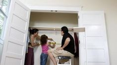 How To Change Sliding Closet Doors To Swing Doors | Closet Doors, Swings  And Doors