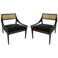 Brave Lounge Easy Chairs By Harvey Probber Vintage Mid Century Modern Delicious In Taste Periods & Styles
