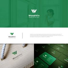 rebranding WoodWin by Vector Scalable