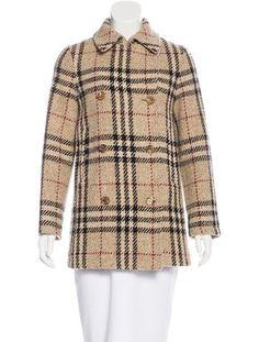 Wool Nova Check Coat