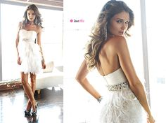 White Party Dress. LOVE this website for dresses!
