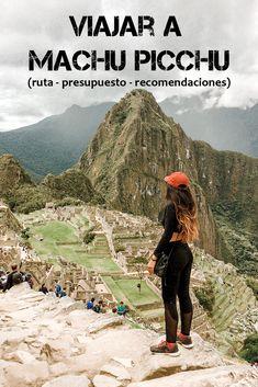 Todo lo que necesitas saber para visitar una de las Nuevas Siete Maravillas del mundo: Machu Picchu en el Departamento de Cusco, Perú. Machu Picchu, Grand Canyon, Traveling, Ship, Mountains, World, Nature, Travel Alone, Hiking Clothes