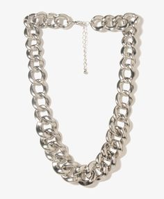 This would be cute to wear with the stripped maxi shirt and white tank top. Curb Chain Necklace   FOREVER21 - 1019571085