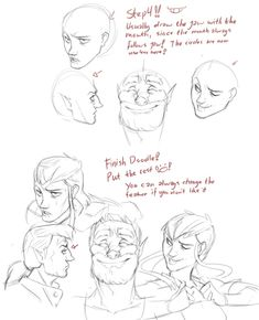 Art References — ingunnsara: Facial expressions!