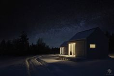 Exterior visualisation on Behance