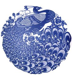 "Chinese traditional art of paper cutting ""Jianzhi"" (剪纸) ""Peacock"" Size: 22 cm x 22 cm (30cm x 30cm with bracket). Handmade by master Chinese artist using traditional techniques that have been used for generations. The traditional Chinese art of paper cut ""Jianzhi"", dates back to the Han Dynasty and is made using only scissors and a small pricker. Buy genuine, handmade traditional chinese paintings at our online store: www.maimaiwenhua/tienda $65.25"