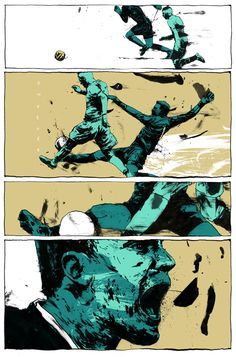 MOMENT OF THE MATCH by Simon Prades, via Behance