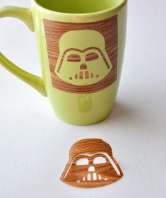 star wars stencil sharpie mug Tutorial