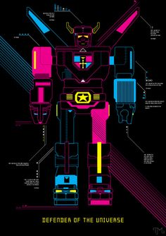 """""""Voltron"""" by Tim Madin"""