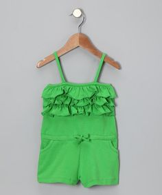 Take a look at this Peacock Feather Romper - Toddler & Girls by Pippen Lane on #zulily today!