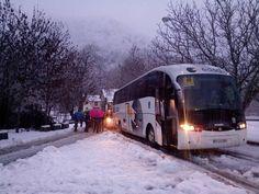 Mucha nieve en Isaba ( Navarra ) en Valle de Roncal.