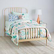 Larkin Metal Bed (Gold)