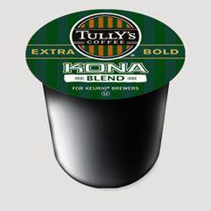 Tully's Coffee Kona Blend, K-Cup Portion Pack for Keurig K-Cup Brewers, 36 total Kona Coffee, I Love Coffee, Chocolate Powder, Hot Chocolate, Coffee K Cups, Coffee Maker, Italian Roast, Keurig, Gourmet Recipes