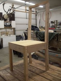 Build Your Own Parson S Chair This Gal Is Genius Diy Furniture Building
