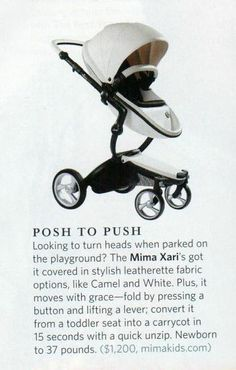 Posh to Push! (their words, not ours) ;) via Fit Pregnancy mag