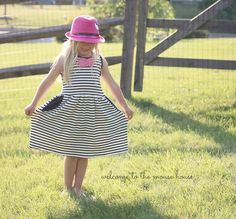 Soleil Dress: Selvage Designs - welcometothemousehouse.com