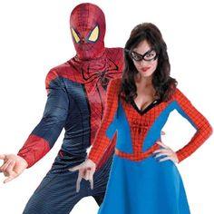 Couples-Costume-Spiderman