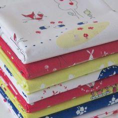 FQ Bundle Cottons: Enchant - Bright, 8 Fabrics
