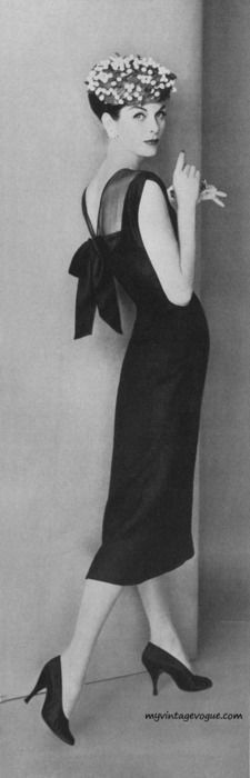 Vogue May 1956 - Model Anne St Marie Photo by Karen Radkai / Conde Nast Archive....more like elegant