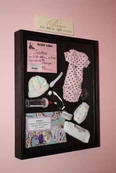 Leuk idee om eerste babyspullen te bewaren