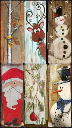 Wooden Christmas Crafts, Christmas Signs Wood, Christmas Art, Christmas Projects, Winter Christmas, Holiday Crafts, Christmas Gifts, Christmas Decorations, Christmas Ornaments