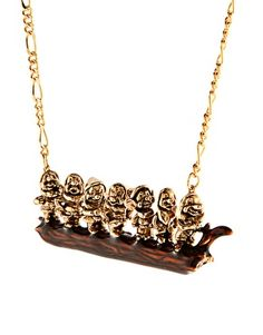 Enlarge Disney Couture 7 Dwarves Necklace