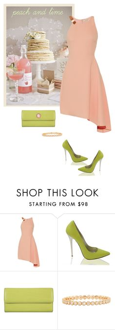 """Sem título #322"" by soleuza ❤ liked on Polyvore featuring Halston Heritage, Lodis and Luna Skye"