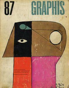 Graphis 87 | Cover art by George Giusti via Stephen Kroninger