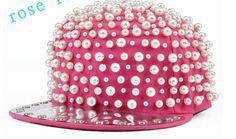 Pearl Hat.  28. Shop online at www.LaBellaBijoux.com  pearls   81a40560085b
