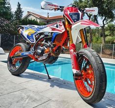KTM in Paradise Bike: KTM EXC 500 Donations for my Dreambike here. Thanks for your support! Ktm Dirt Bikes, Cool Dirt Bikes, Ktm Motorcycles, Dirt Bike Racing, Ktm 450 Exc, Ktm Exc, Motocross Love, Motorcross Bike, Moto Cross Ktm