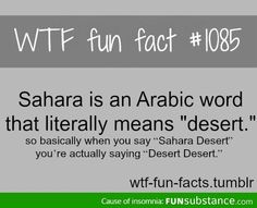 I've known this my whole life, I speek Arabic, spoke it entire life.