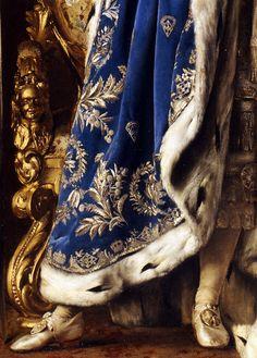 Ludwig II by Gabriel Schachinger, (Detail), 1887 Mode Renaissance, Motifs Textiles, Classical Art, Detail Art, Old Art, Art Plastique, Aesthetic Art, Historical Clothing, Fabric Painting