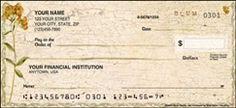 Cheri Blum's Splendor Checks - Personal Checks - Artistic Checks