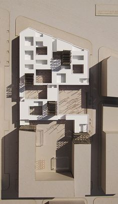 Impressive Architecture Model For You – Design and Decor Architecture Model Making, Architecture Drawings, Concept Architecture, Interior Architecture, Cubic Architecture, Library Architecture, Paper Architecture, Architecture Visualization, Chinese Architecture