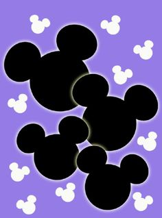 Mickey Heads Luggage Tags 4
