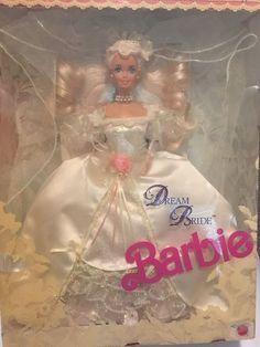 Dream Bride Barbie Doll 1623 Wedding Lacy Lingerie 1991 Mattel NRFP | eBay