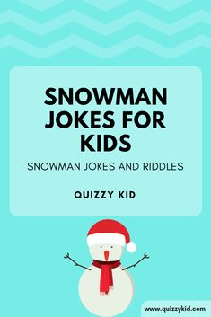 Snowman Jokes for Kids is part of Science Puns For Kids - Snowman riddles! Check out these riddles and snowman jokes for kids Find out what one snowman said to the other snowman Christmas Jokes For Kids, Funny Christmas Jokes, Christmas Humor, Christmas Fun, Funny Jokes For Kids, Funny Quotes For Teens, Fun Funny, Kid Jokes, Clean Jokes For Kids