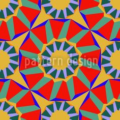 Circus Colori created by Andreas Loher offered as a vector file on patterndesigns.com